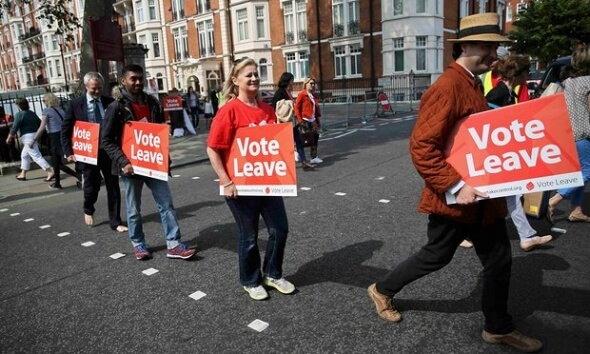 brexit - vote leave