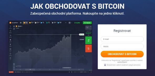Registrace na IQ Option